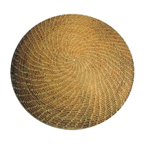 Grass Table Mat made with the coiling technique