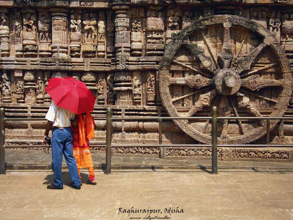 Village Name- Raghurajpur Image Source - Natgeo Traveller